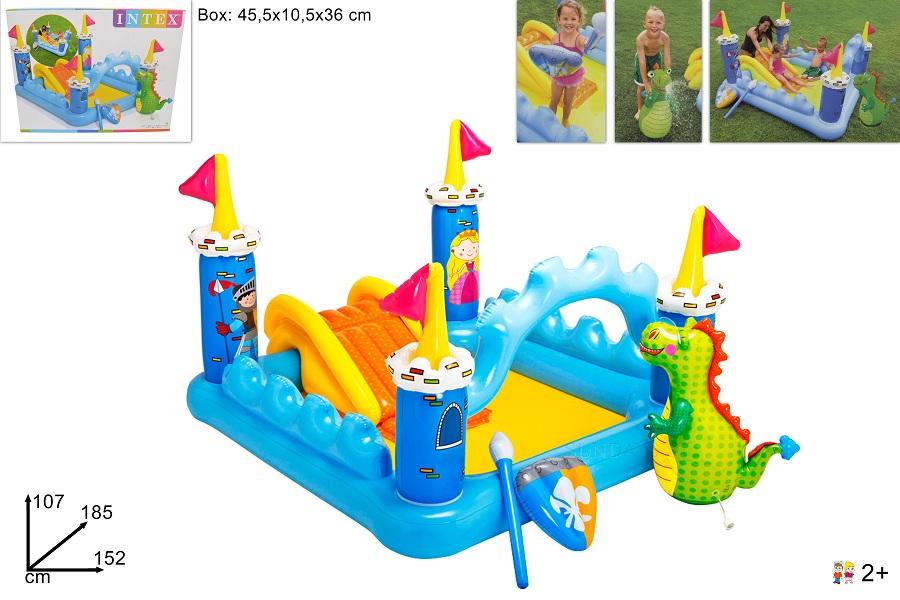 Piscina play center castello jolly toys addobbi ed for Piscina jolly