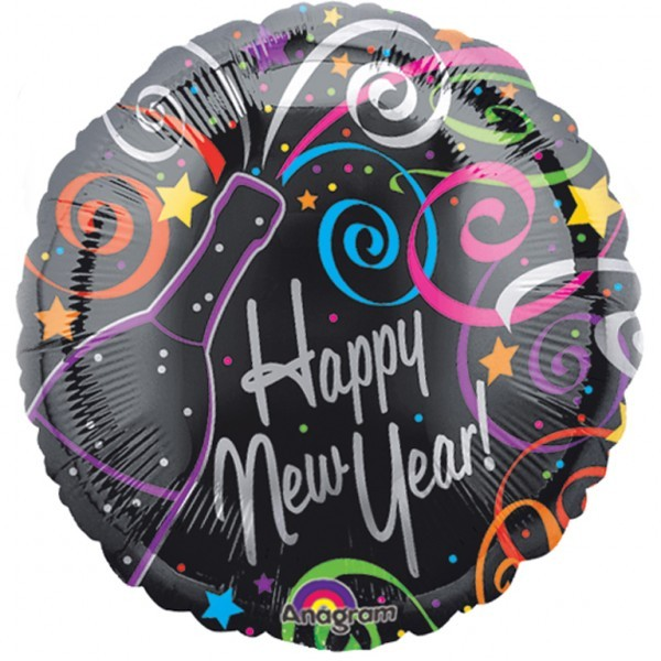 PALLONE HAPPY NEW YEAR