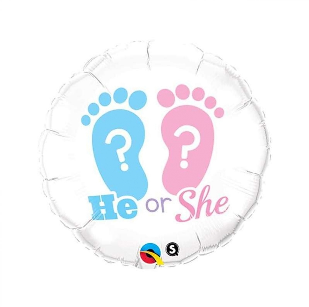 PALLONE HE OR SHE 18