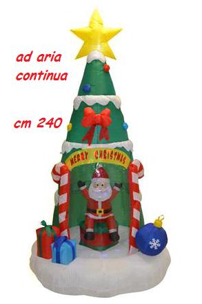Categoria dettaglio vis2 jolly toys addobbi ed for Albero natale gonfiabile